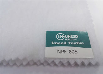 100% Polyester Garments Accessories White Felt Fabric Needle Punched bukan tenunan