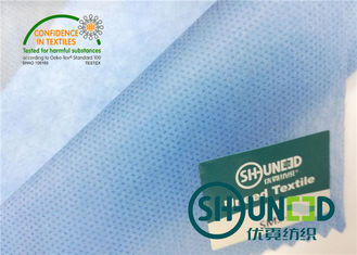 Blue PP Spunbond Non Woven Fabric Medical Filed 100% Polypropylene