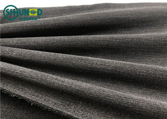 Viscose Polyester Water Jet Tenun Interlining Super Lembut Perasaan Tangan PA Coating