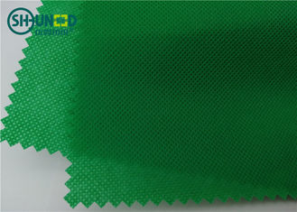 Colorful Biodegradable Polypropylene PP Spunbond Non Woven Fabric Rolls untuk Tas Industri