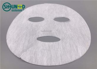 100% Natural Biodegradable PLA Spunbonded Nonwoven Fabric Untuk Masker Warna Putih