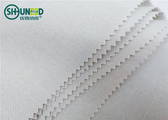 240gsm Single Side Brushed Tie Interlining Fabric Dasi Lining Roll