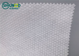 Mutiara Pola Spunlace Nonwoven Fabric Polyester / Viscose Cross Lapping