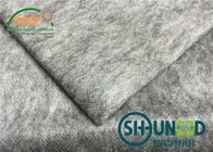 50% Polyester / 50% Nylon Non Woven Interlining With Silicon Process