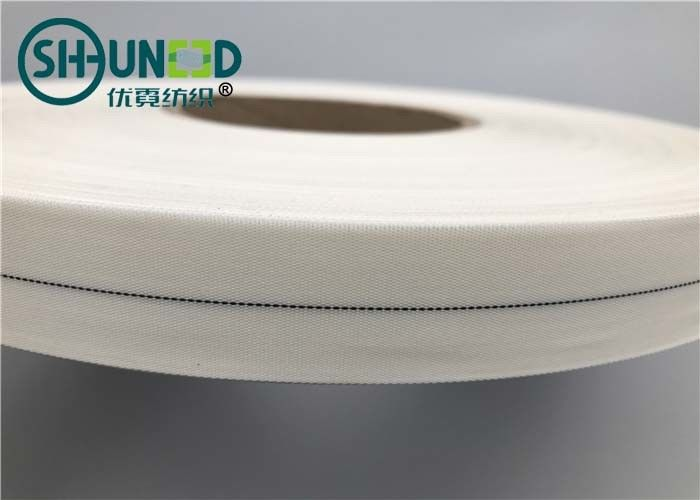 0.28-1.1mm Garments Accessories White Nylon Wrapping Tape For Industrial Rubber Hose