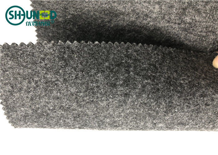 Polyester Fabric 1mm Grey Needle Punched Non Woven Fabric Fire Retardant
